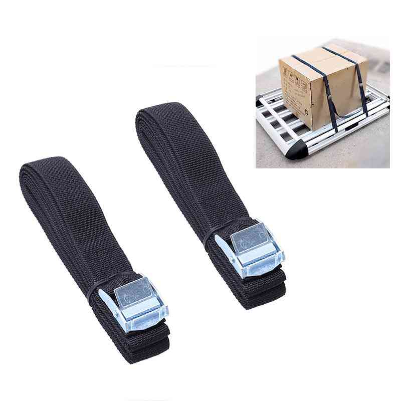 Lashing Straps With Buckle Nylon Straps Tie Down Car Roof Rack