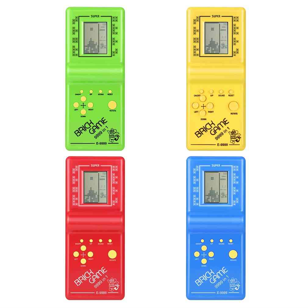 Classic Tetris Hand Held Lcd Electronic Game Fun Brick Game Riddle Handheld Game Console