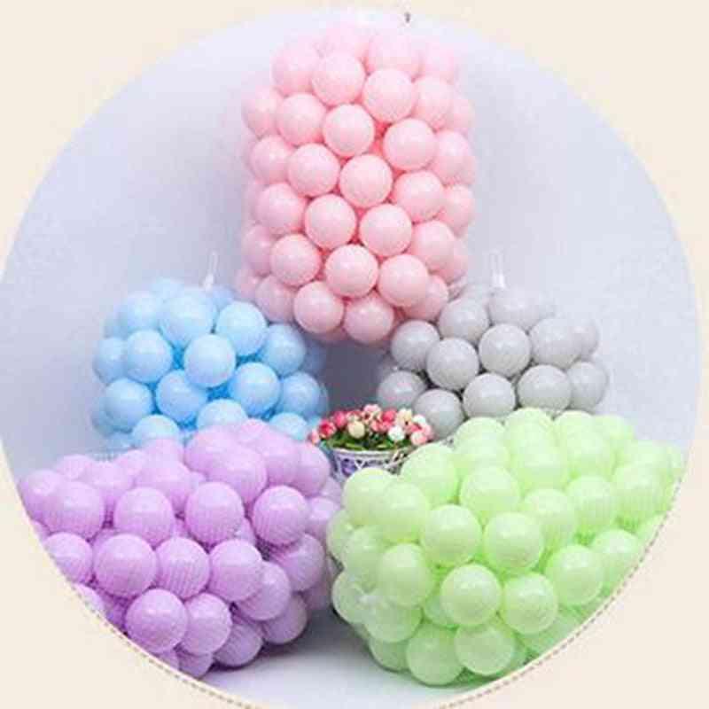 Children Plastic Ocean Ball, Eco-friendly, Pe Sea Balls, Outdoor Sport, Dry Pool Pit