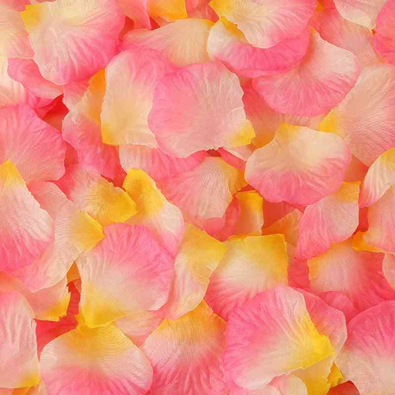 Artificial Silk Rose Petals For Wedding Decoration Romantic