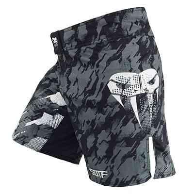 Sotf Mma Adults Venomous Snake Camouflage Geometric Boxing Shorts, Clothing