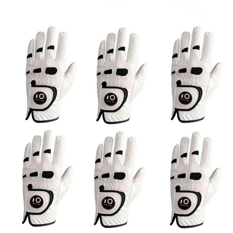 Comfortable Golf Gloves For Men- Leather Ball Marker