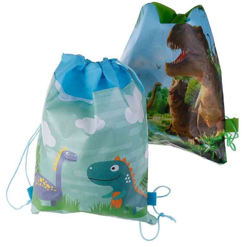 Non-woven Fabric Baby Shower Clothings Drawstring Bags School Backpacks