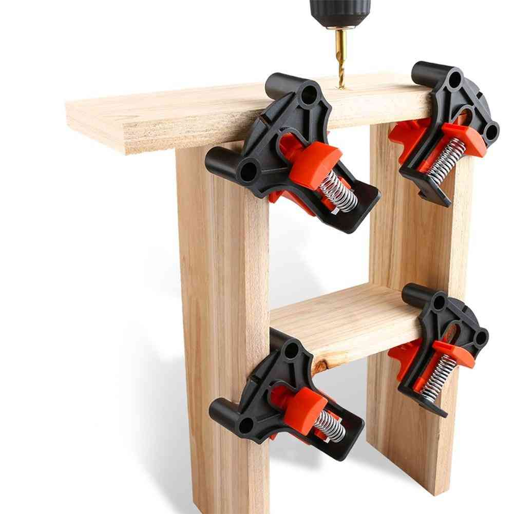 4pcs 90 Degree Right Angle Clamp Fixing Clips