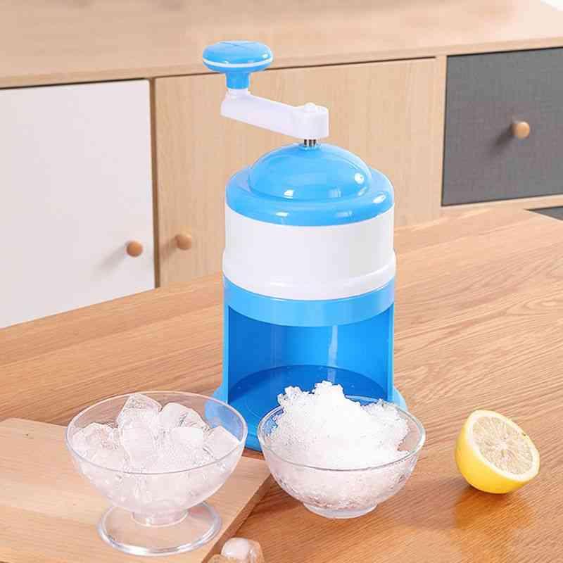 Household Mini Easy Ice Shaver Crusher Handheld