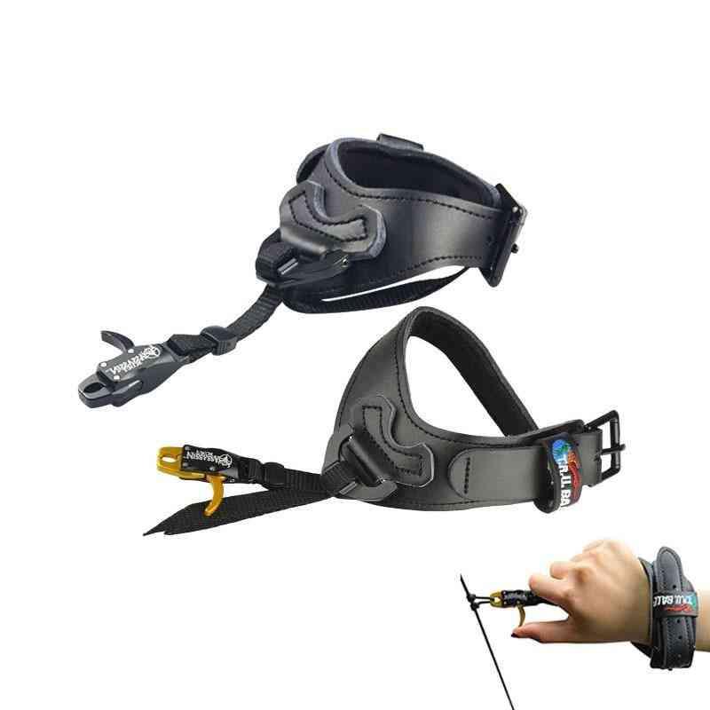 Adjustable Buckle Trigger Caliper, Strap Wrist Hunting Accessories