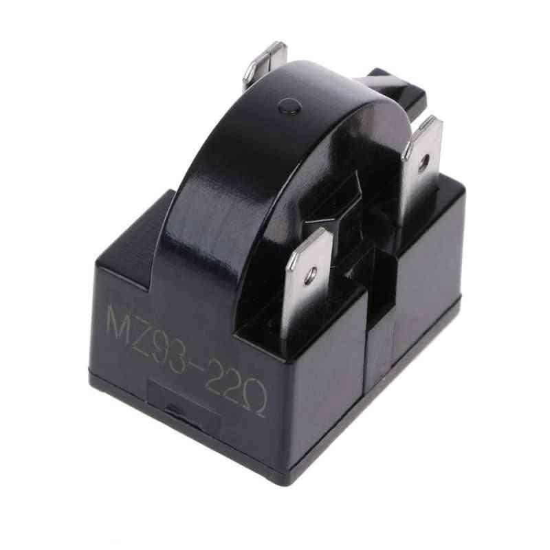 220v 3pin Terminals 22ohm Refrigerator Compressor, Ptc Starter Relay Parts