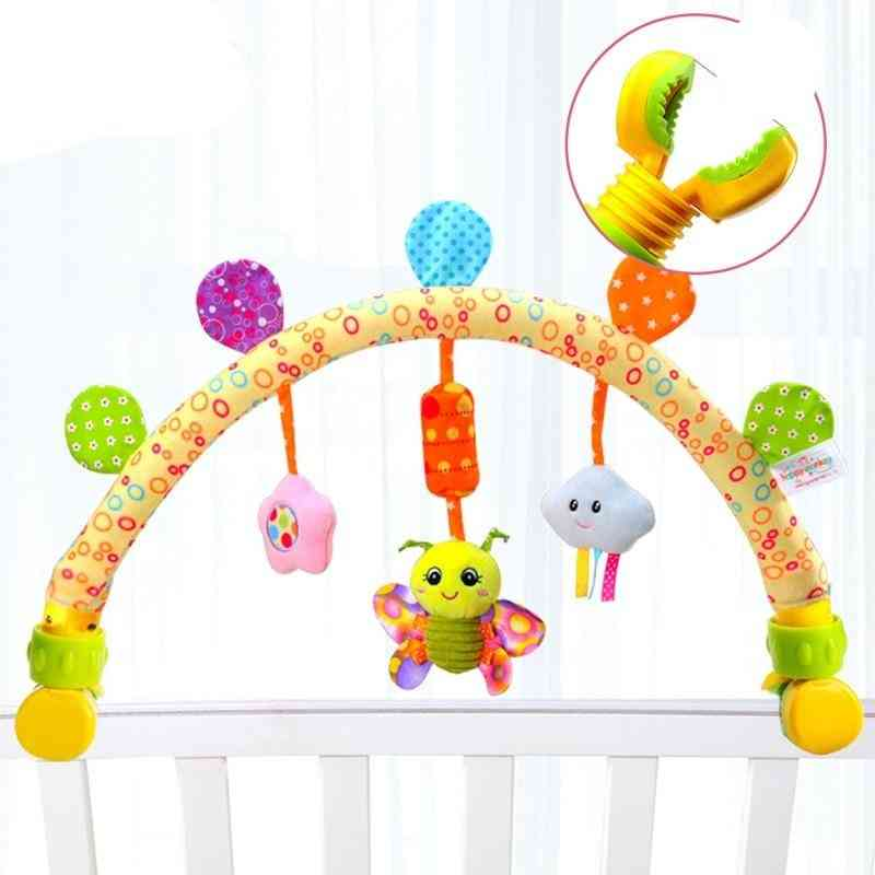 Baby Stroller Arc With Toy Arch Musical Mobile On The Bed Baby Rattles0-12 Months Infant/newborn Educational Toy