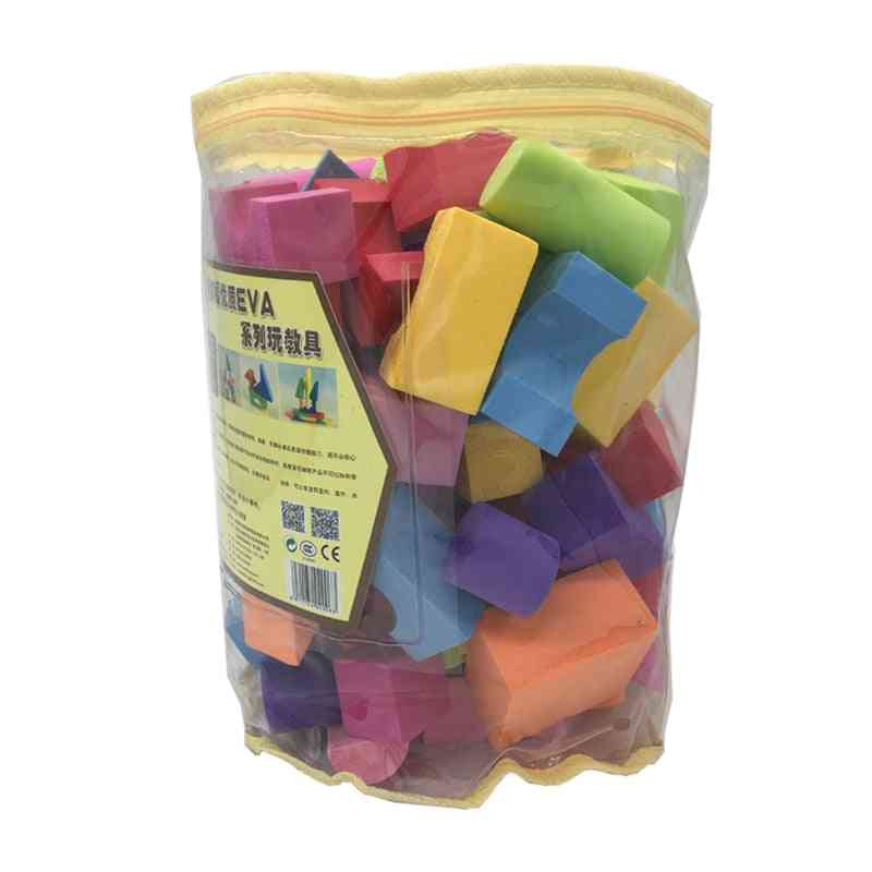 Eva Building Blocks For 0-6 Years Old Soft Safe Bricks Enlighten
