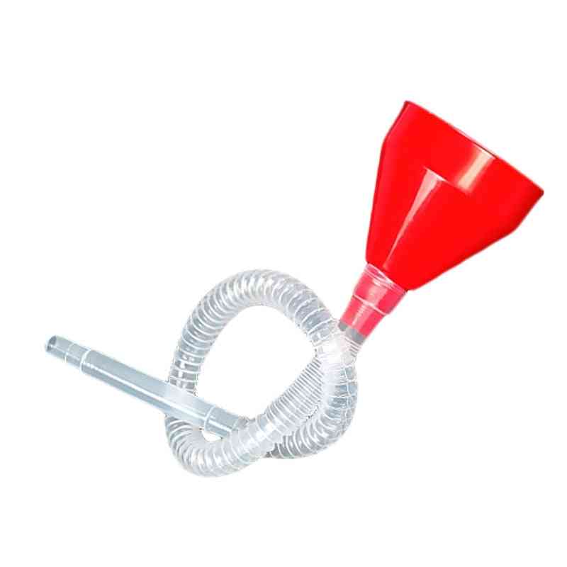 2 In 1 Plastic Funnel Can Spout For Fuel