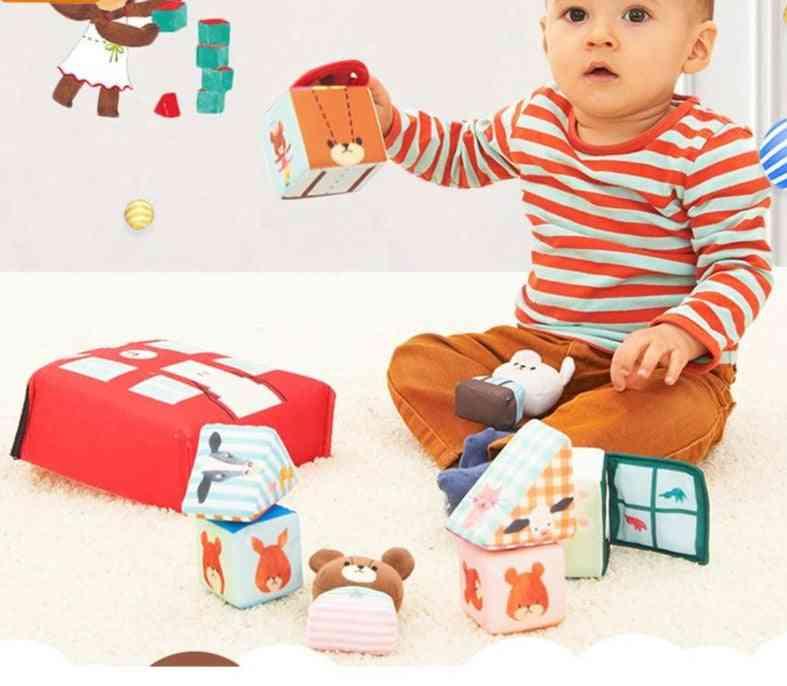 Genuine Baby Infant Educational Bear School Sponge Soft Block Early Education Educational