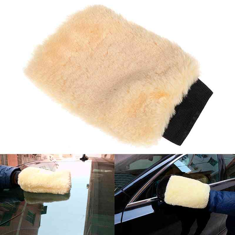Auto Detailing Brushes Sponge Plush Mitt Car Wash Glove