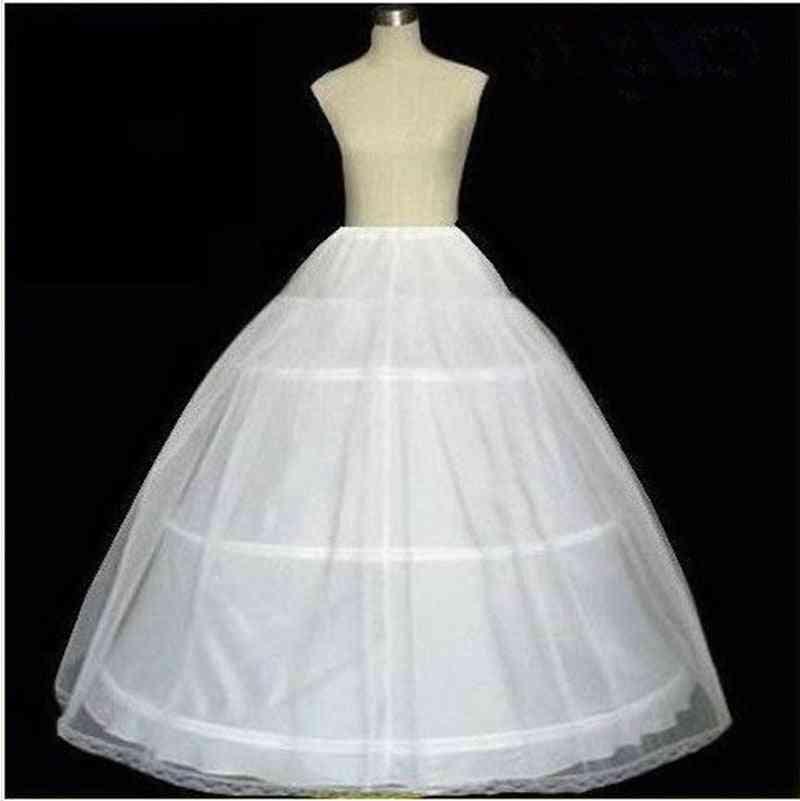 Kid's Petticoat For Girl, Crinoline Underskirt Wedding Prom Dress