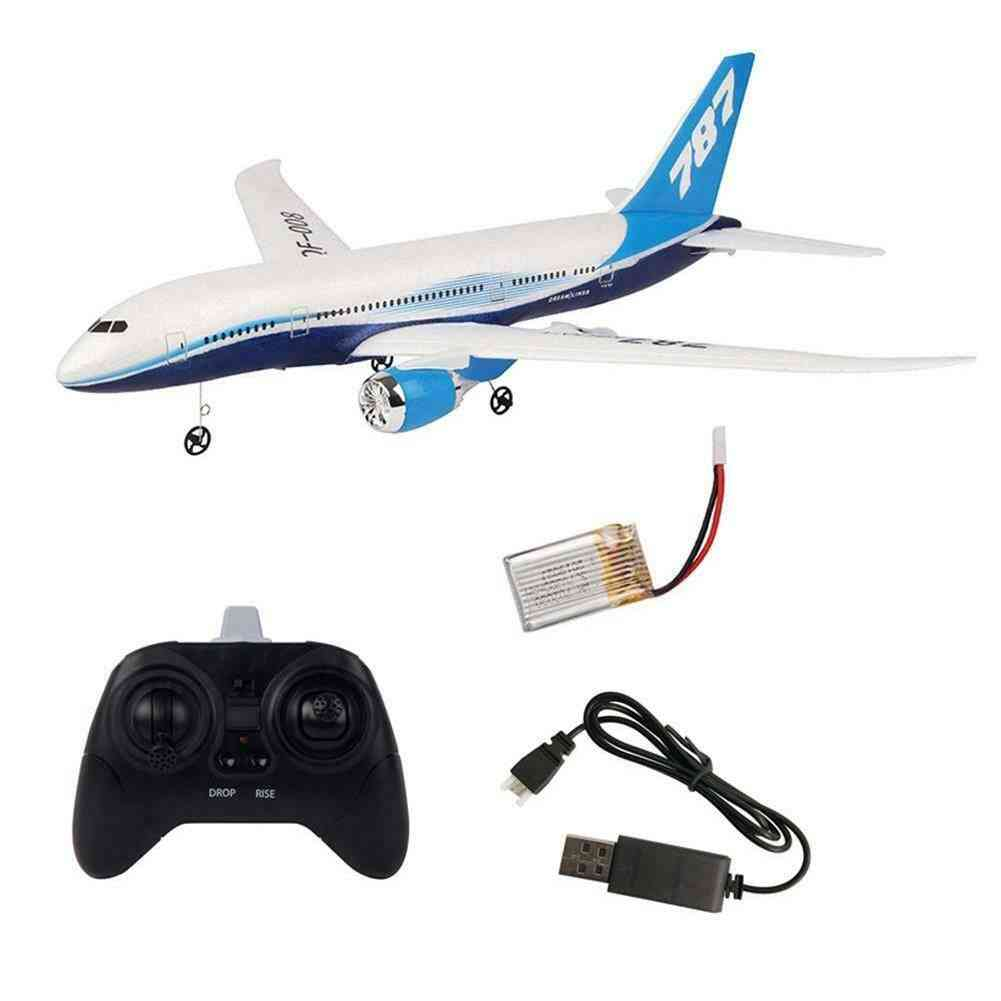 Diy Epp Remote Control Aircraft, Rc Drone, Fixed Wing Plane Kit Toy, Six-axis Gyroscope, Gift For Kid