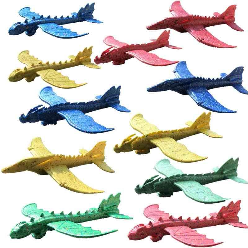 Hand Launch Throwing Glider, Aircraft, Inertial Foam, Epp Airplane, Dinosaur, Train Dragon Plane, Model Outdoor, Educational