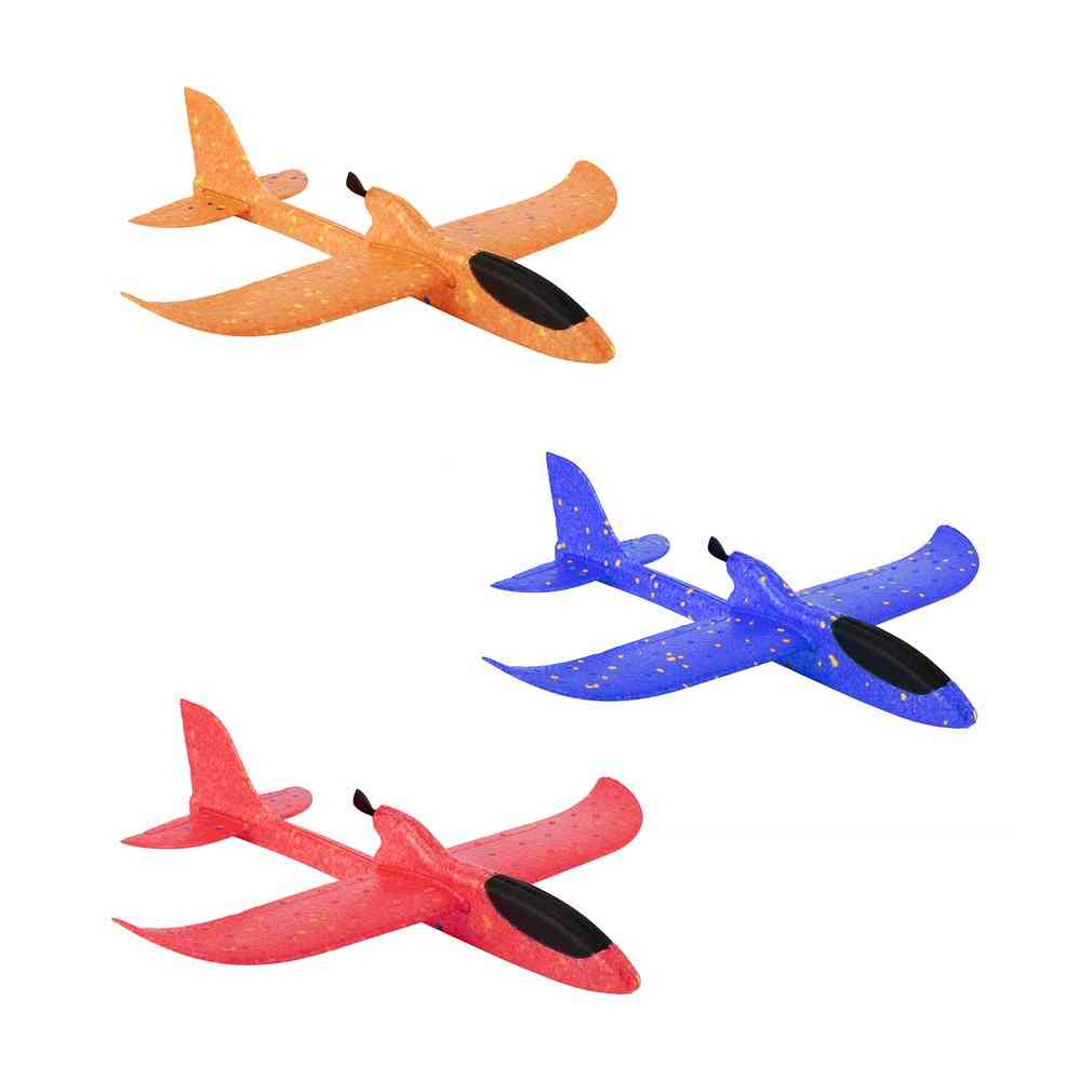 Diy Electric Assisted Glider Foam, Powered Flying Plane, Rechargeable Aircraft Model, Educational For