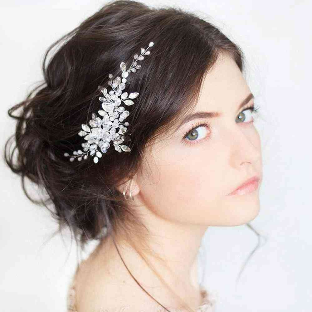 Bridal Hair Vine Wedding Hairpins Clips, Wedding Hair Jewelry