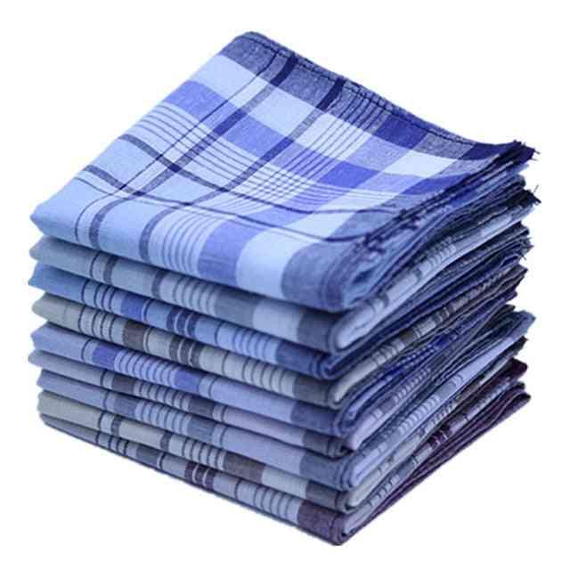 Stripe Plaid Business Scarves Suit Hankies