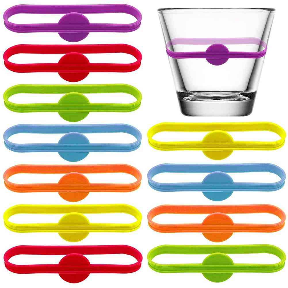 Bar Party Wine Labels Glasses Drinking Tag Set