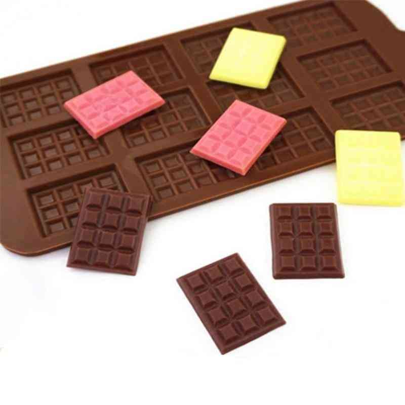 12 Chocolate Silicone Fondant Patisserie Candy Mould