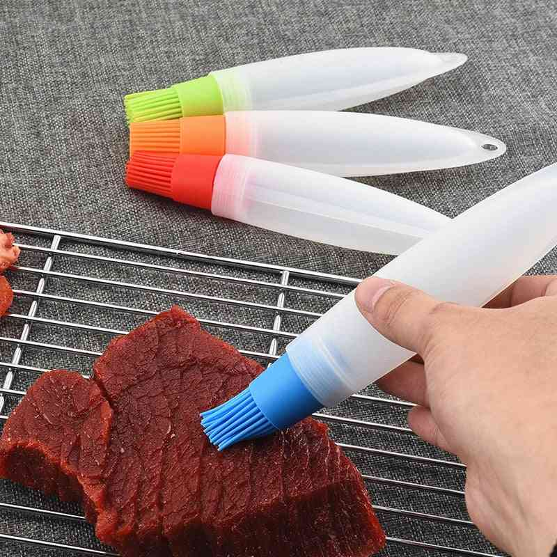 Kitchen Utensils Cooking Safety Silicone Oil Brush