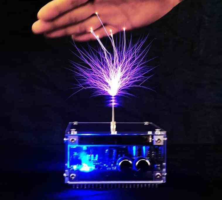 48v2a 10cm Flat-panel Bluetooth Music Tesla Coil High Frequency