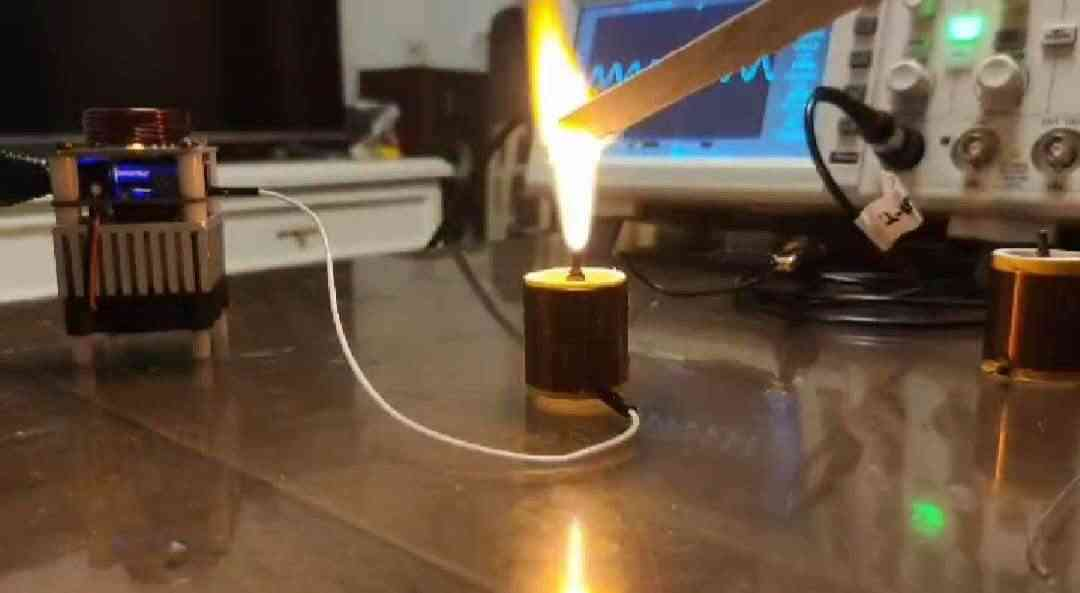 High Frequency Tesla Coil Hfsstc Electronic Candle