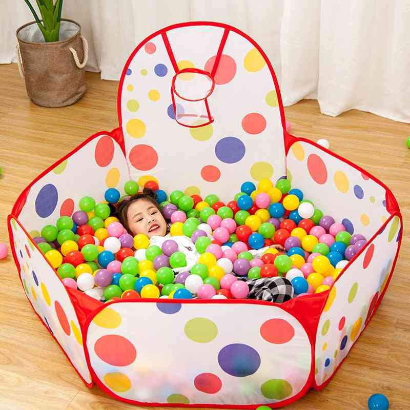 Tent Baby Ball Pool Ocean Balls Pool Foldable Kids Play Tent Playpen House Game Toy