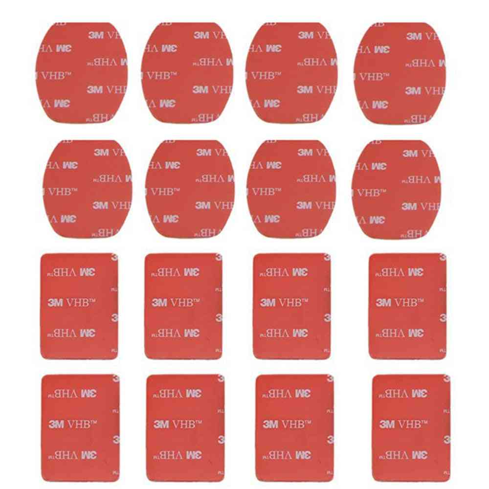 Accessories Flat Curved Mount Set Sticker, Adhesive For Go Pro
