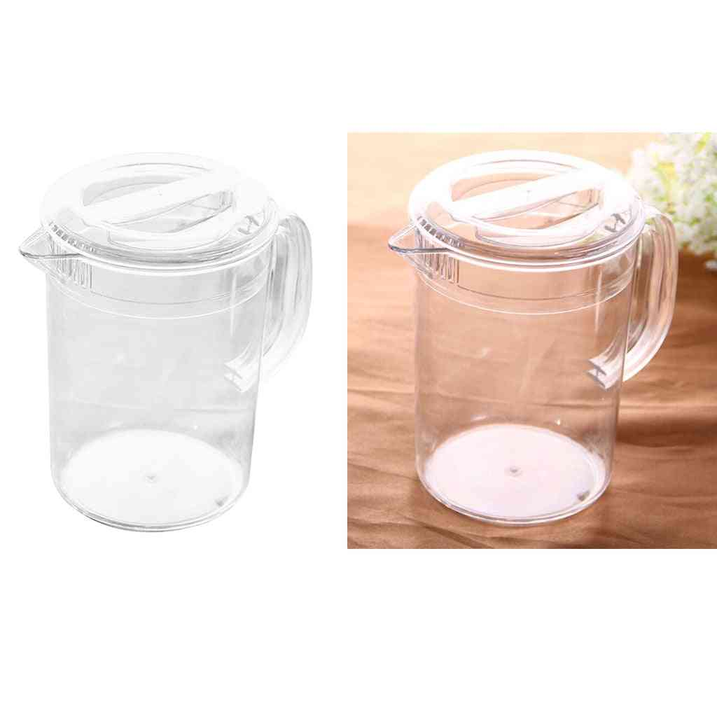 Water Beverage Pitcher With Handle