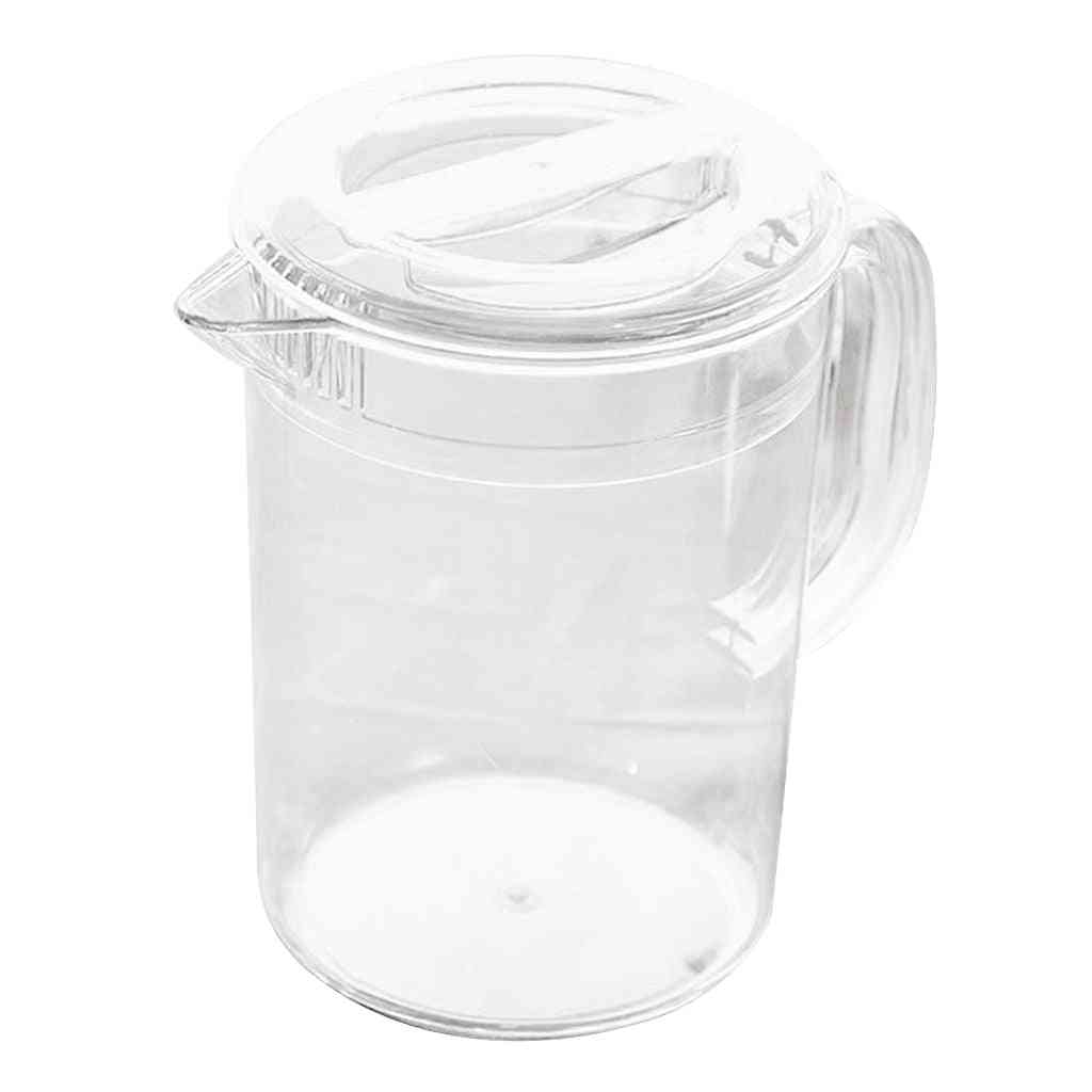 Acrylic Pitcher With Lid For Water Tea Beverage Pots
