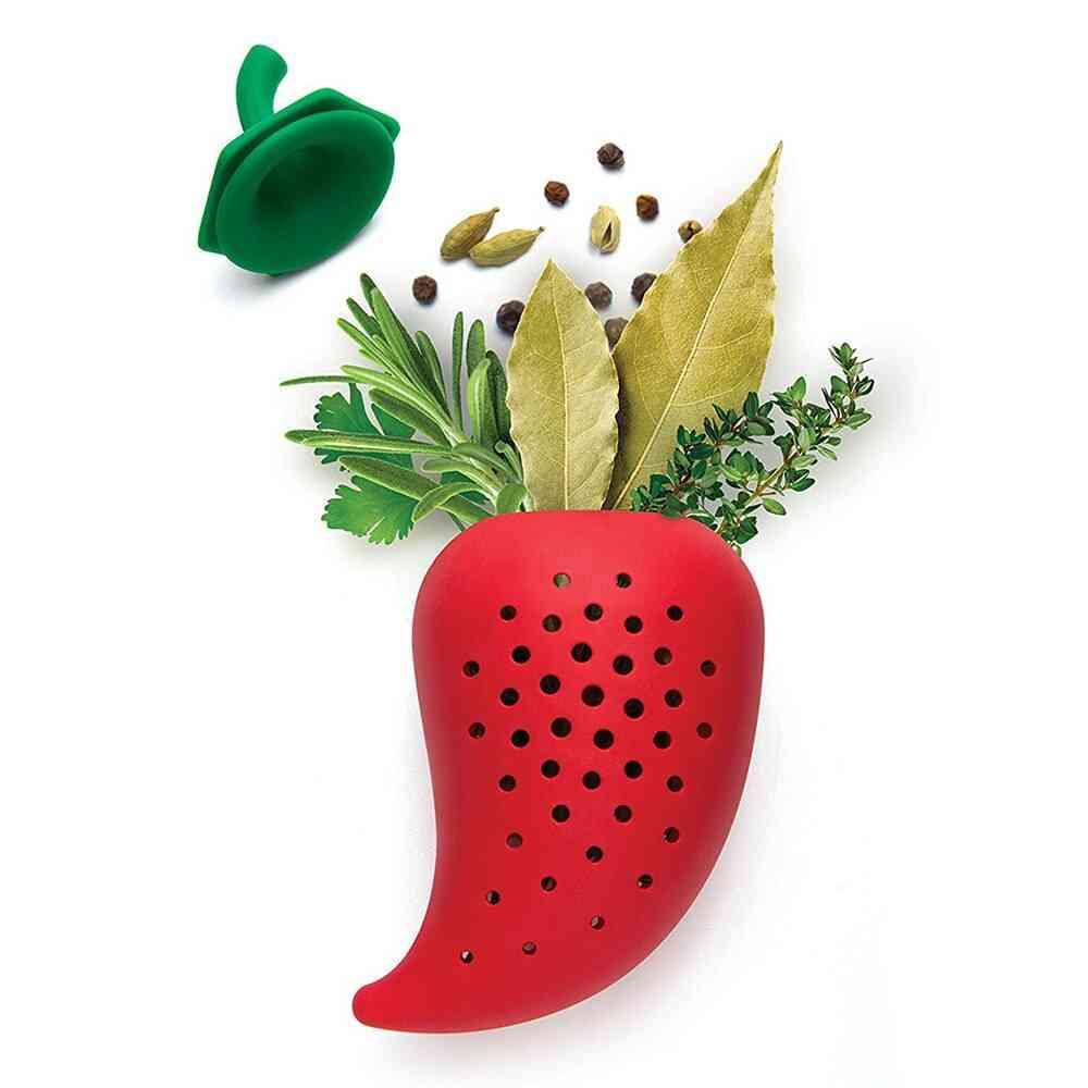Creative Silicone Chili Spice Filter