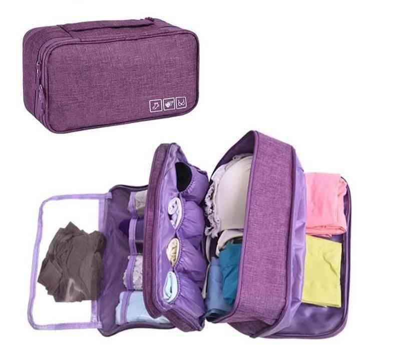 Bra Underware Drawer Organizers Dividers Box Bag Travel Storage