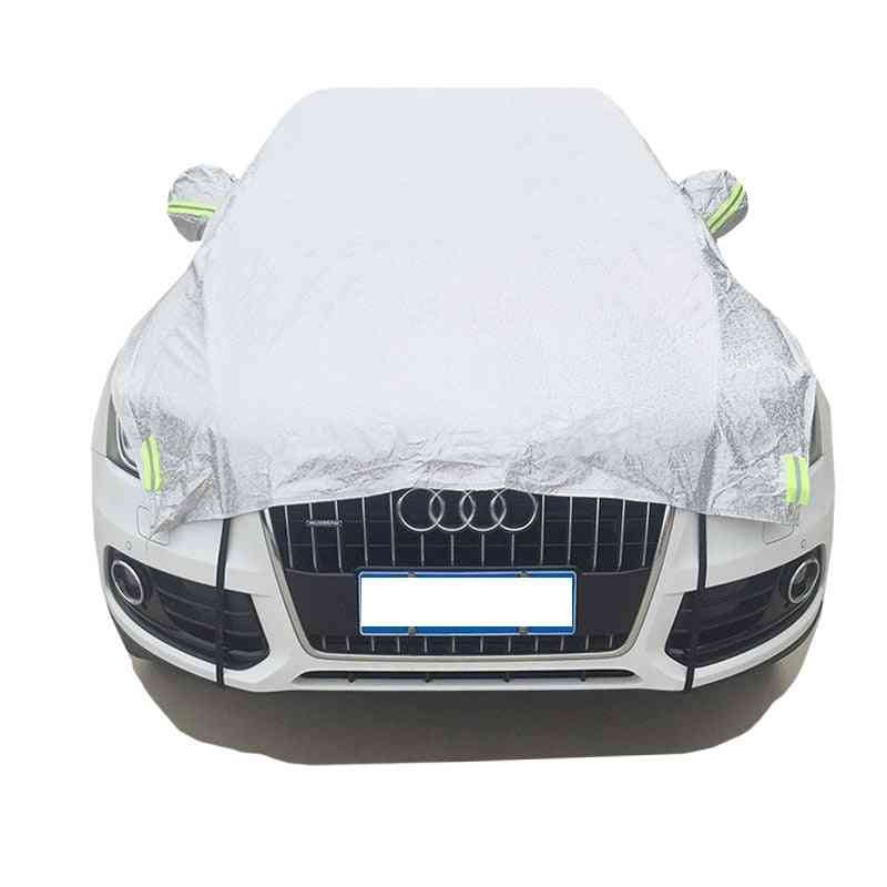 Universal Semi Car Cover With Cotton Sunshade