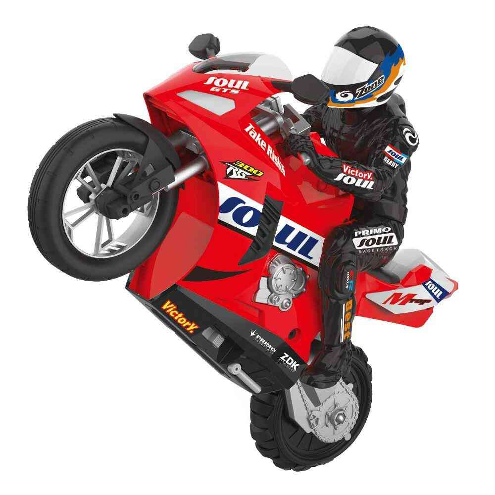Self Balanced Stunt Rc Bike, Motorcycle, Remote Control Vehicles, Collectible Hobbies, Model Toy For