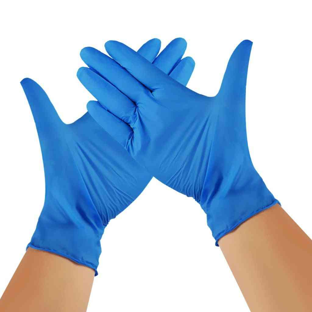 Nitrile Disposable Waterproof Powder Free Latex Gloves