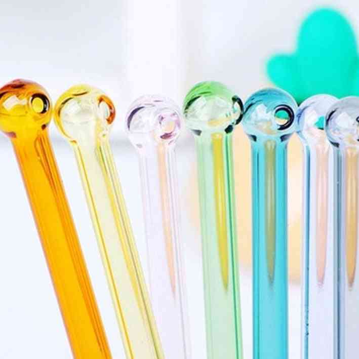 Colorful Reusable Wedding Cocktail Tubes Drinking Straws