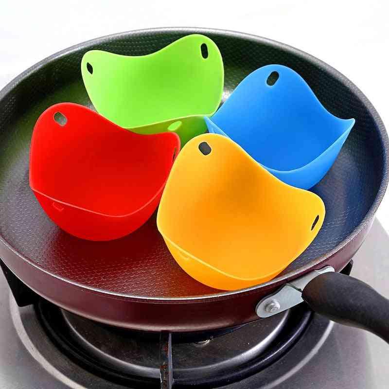Silicone Pancake Egg Poach Pods Baking Cup