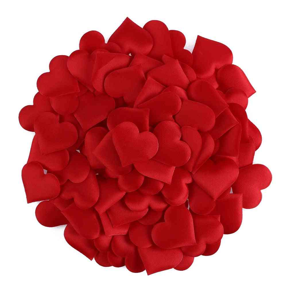Love Heart Shaped Sponge Handmade Diy Petal For Decorative