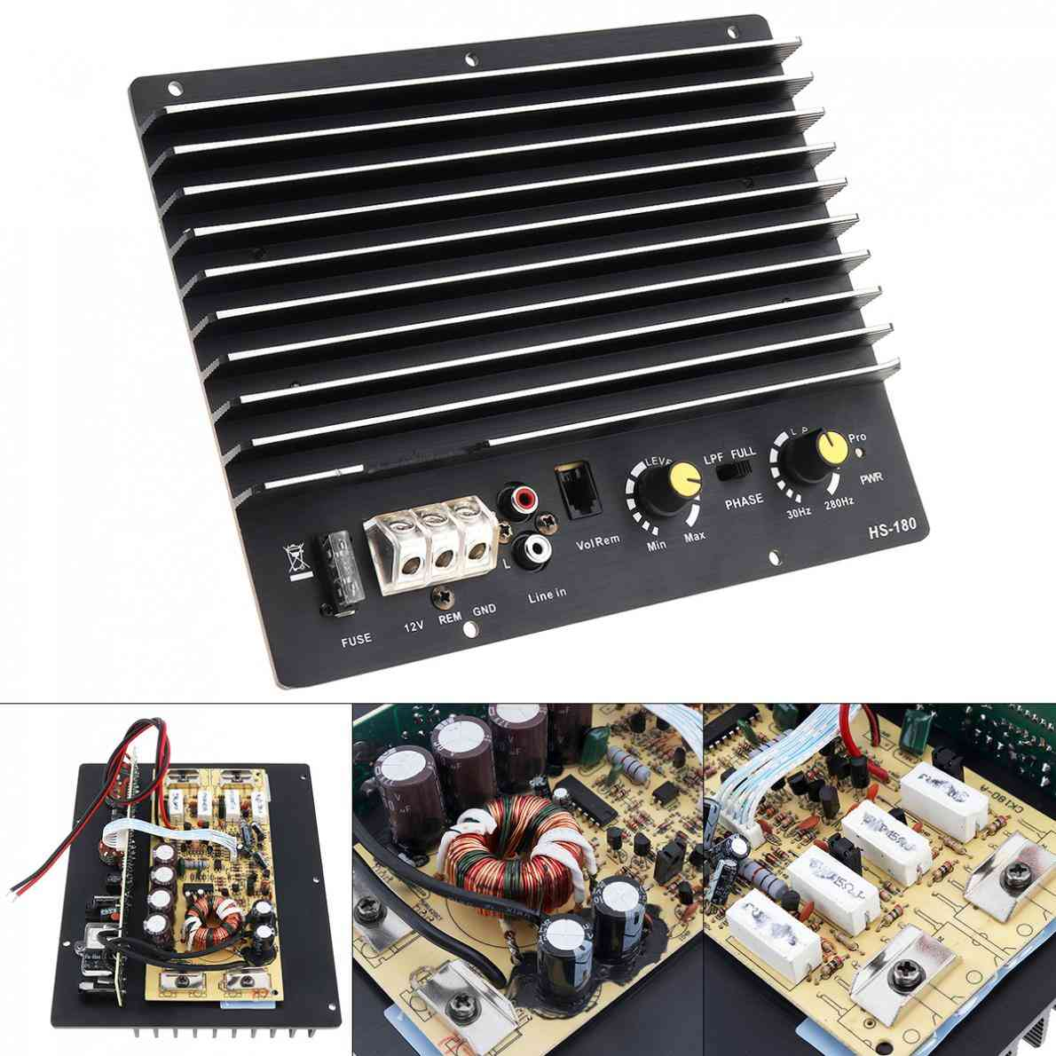 Powerful Bass Subwoofer Car Audio High Power Amplifier Board