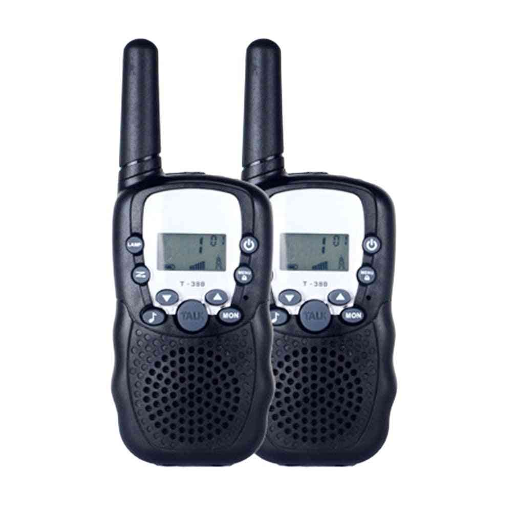 Two Way Radio Portable Handheld's Walkie Talkie With Built-in Led Torch Mini Toy