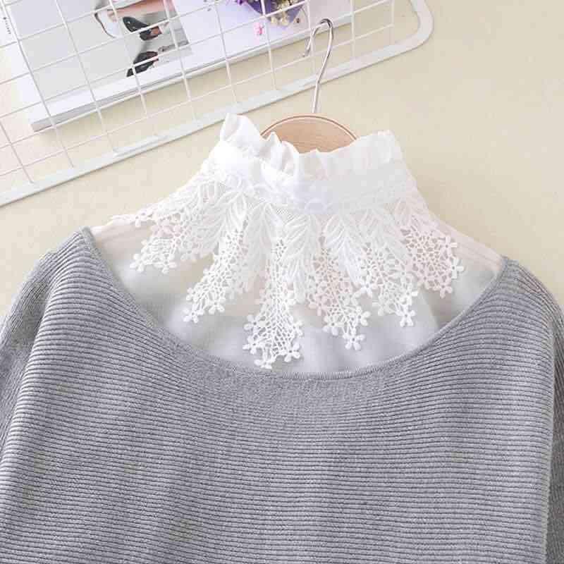 Adjustable Detachable Shirt Blouse Tops Ladies
