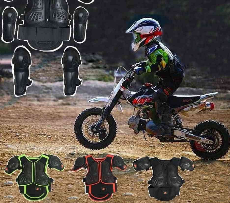 Knee Elbow Guard Motorcycle Vest Suits
