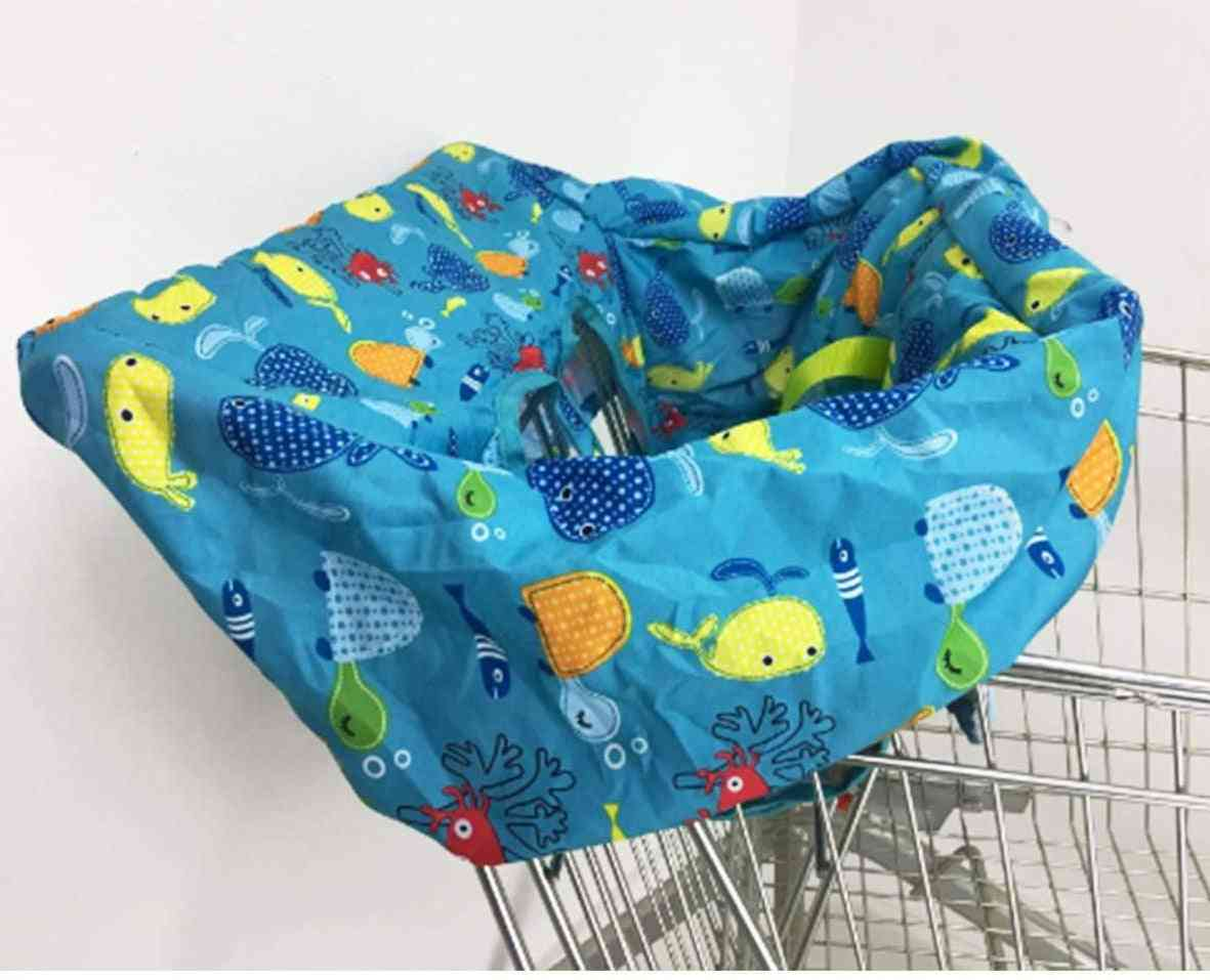 Baby Portable Shopping Cart Cover Pad