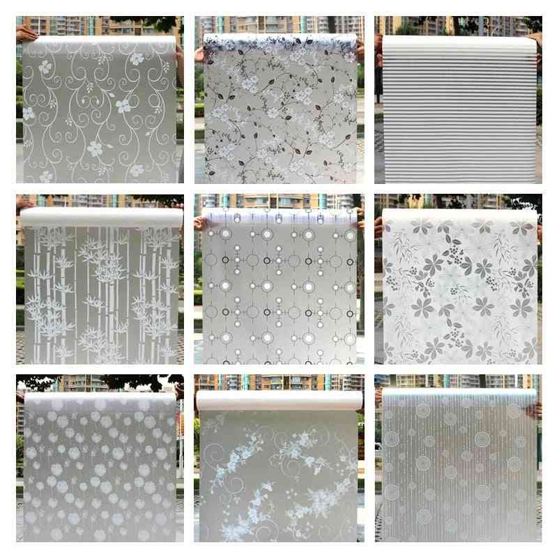 Decorative Privacy Vinyl Window Adhesive Film Window Sticker - Set 2