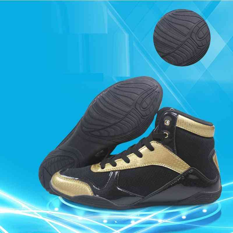 Fighting Wrestling Sneakers, Breathable Boxing Boots
