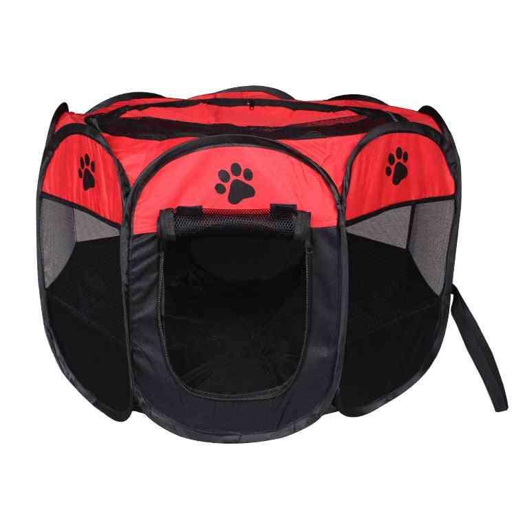 Portable Pet Folding Dog House Indoor Tent