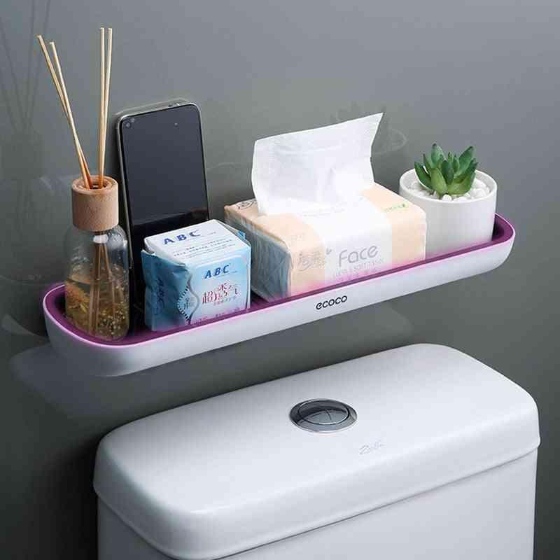 Wall-mounted Bathroom Shelf Toilet Storage Rack