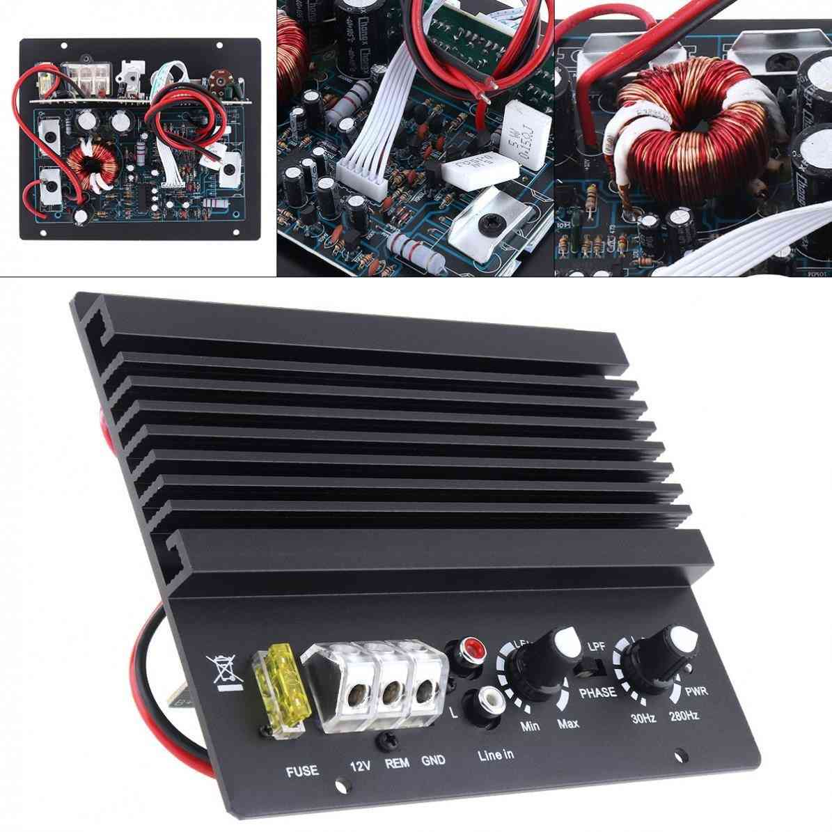 High Power Class Ab Digital 2 Channel Car Audio Amp Subwoofer