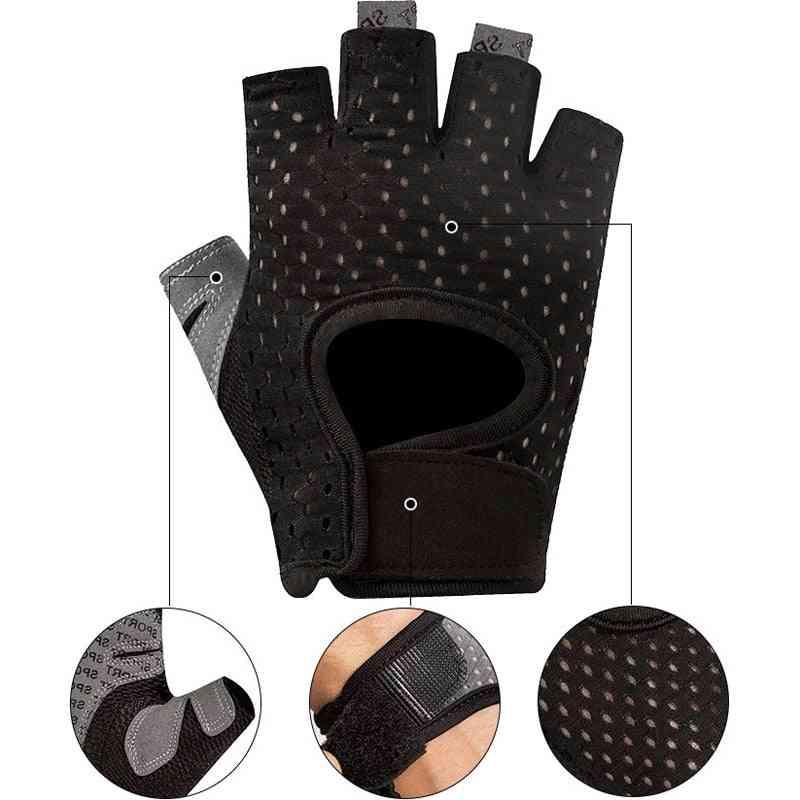 Men Women Fitness Gloves, Gym Weightlifting Gloves
